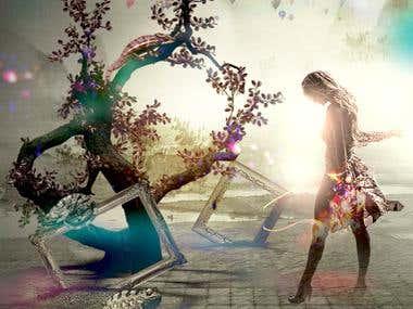 Surrealism Photomanipulation Design