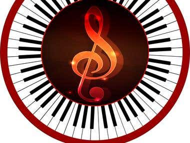 SUR-REAL Music Band Logo