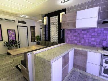 A Purple Apartment