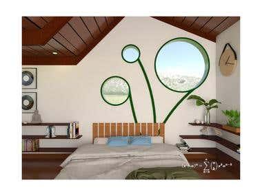 Bedroom - Vray