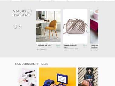 Website design - SAVLY