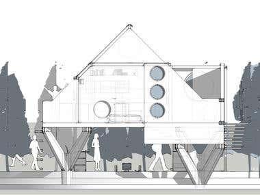 House Facade - SKP