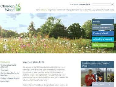 Clandonwood.com website