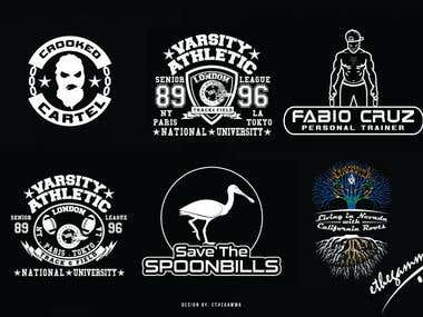 Customized vector designs for Apparel & Branding