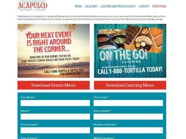 acapulcorestaurants.com website