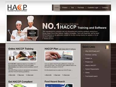 haccpweb.com website
