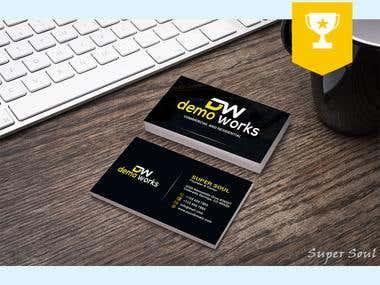 Standard Business Card design..