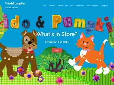 fidoandpumpkin.com wordpress website