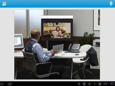 Android video conference
