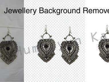 Jewellery Background Remove