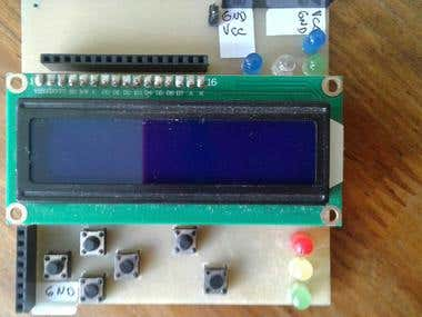 LCD Panel for easy prototyping.