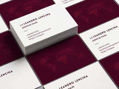 Business Card and illustration