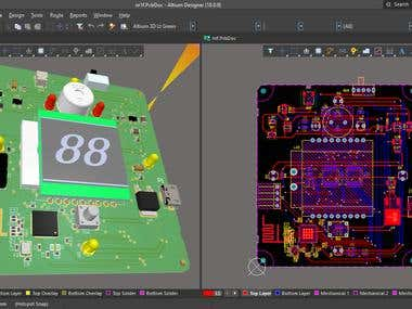 Altium Designer PCB design project