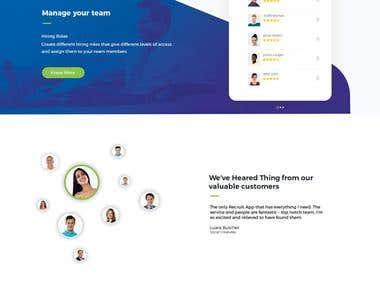 Recruit 4 Web Design