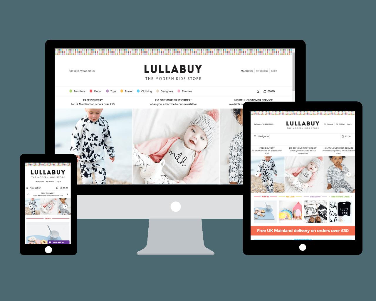 Responsive E commerce website on Magento