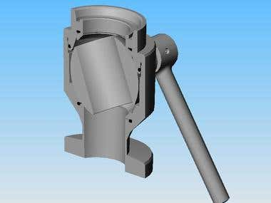 valve made in solidworks
