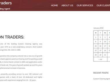 Website for Haroon Traders