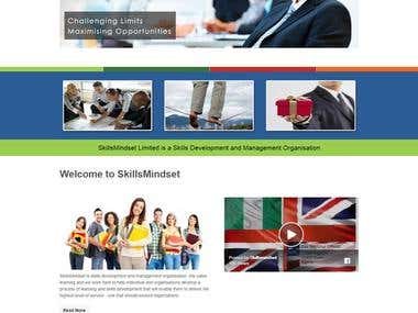 WordPress Project - www.skillsmindset.com