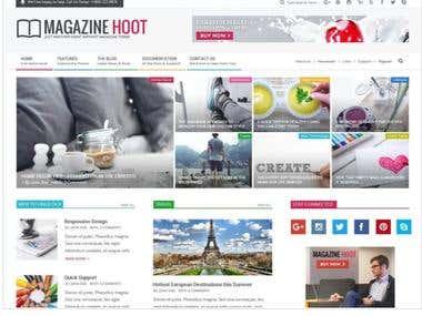 Magazine Hoot Site