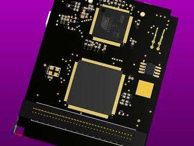 FPGA & ARM Board Design in Altium Designer
