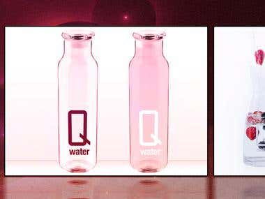 Q Water Back Drop