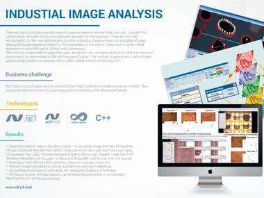 INDUSTRIAL IMAGE ANALYSIS