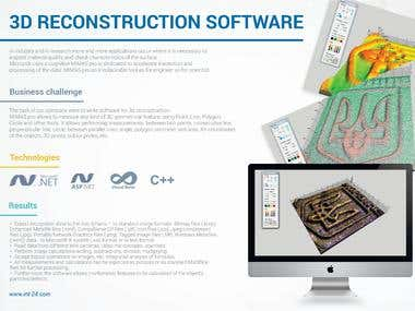 3D RECONSTRUCTION SOFTWARE
