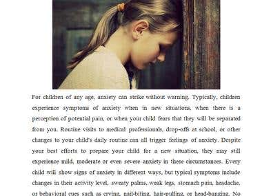 Helping Your Child Cope with Situational Anxiety