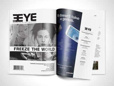 3rd Eye Magazine Design