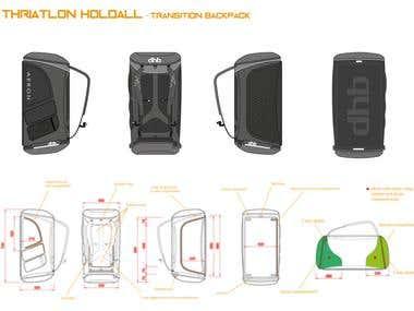 Backpack for Thriatlon