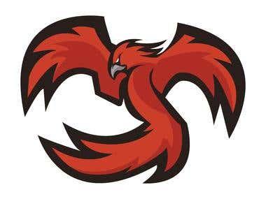 Mascot logo - Pheonix