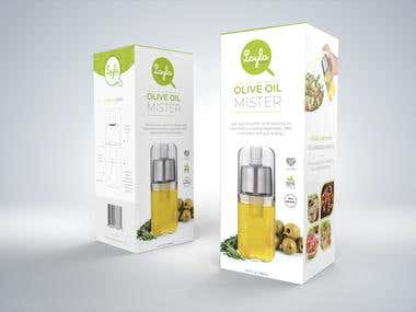 Olive Oil Mister Packaging