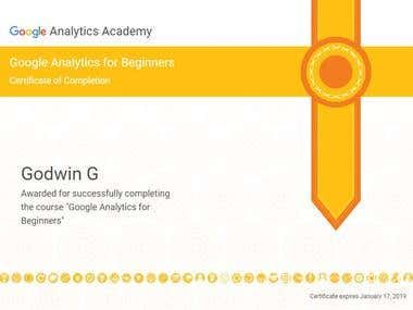 Google Analytics Individual Qualification- Google Analytics