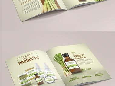 LemonGrass Factory Branding