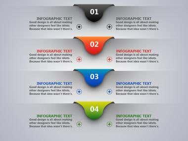 Info-graphic Design, Adobe illustrator