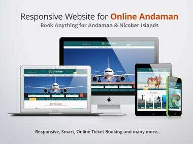E-commerce Website for Travel & Tourism