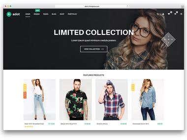 Online Shop Project