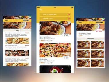 FoodPanda/Swiggy app