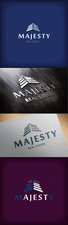 The logo for the company of Majesty Real Estate