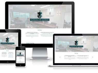 Moreira de Moraes Advogados e Associados - Website