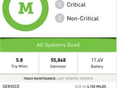 Mechanic Advisor mobile application