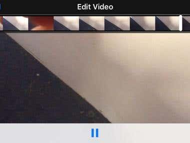 Video Trim app