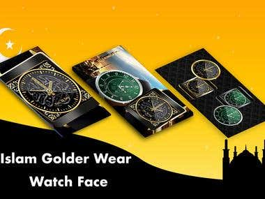 Islam/Golden Wear Watch Face