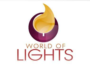 LOGO FOR THE WORLD OF LIGHTS