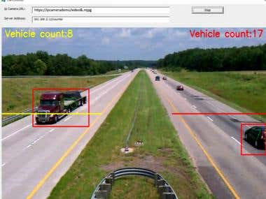 Car Tracking from IP Camera