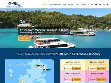 Website for seychelles ferry
