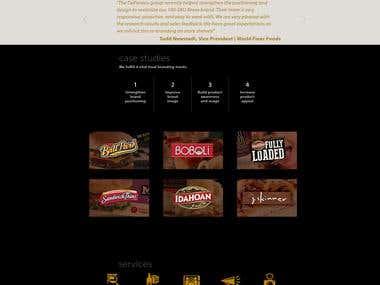 Food Branding Website