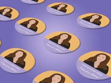 Sydney Marie's Sticker