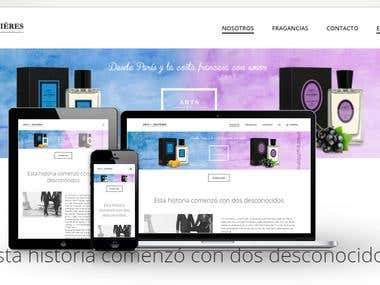 Arts et matieres / Website Design and Development