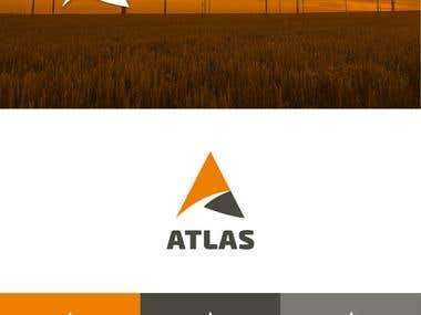 Atlas Energy Networks corporate branding: